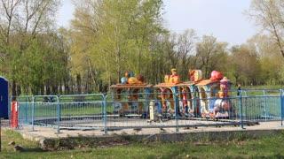 Childrens locomotive