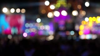 Concert lights video stock footage