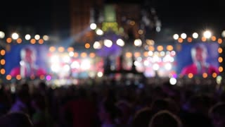 Concert video stock footage