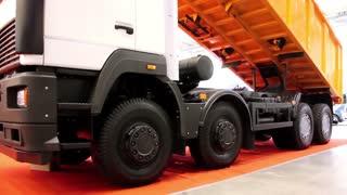 Dumper truck video stock footage