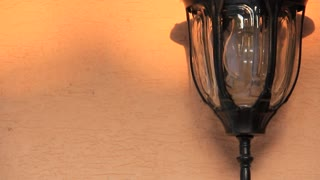 Electric light video stock footage