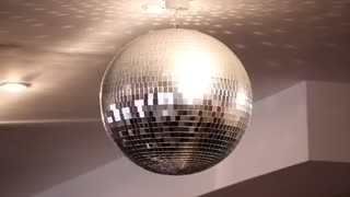 Glitterball video stock footage