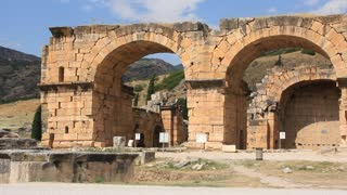 Hierapolis ancient city. Turkey