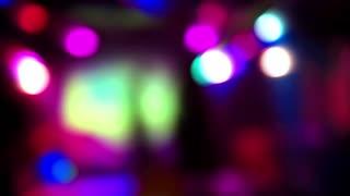 Illumination inside nightclub