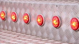 Illuminations. Red lights