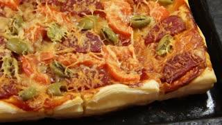 Italian pizza video stock footage