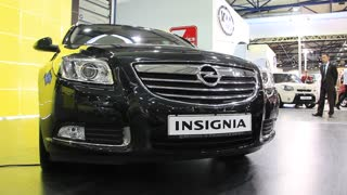 "KIEV, UKRAINE, MAY 26, 2011: Opel Insignia at yearly automotive-show ""SIA 2011""."