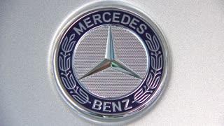 "KIEV, UKRAINE - SEPTEMBER 11: Mercedes-Benz at yearly automotive-show ""Capital auto show 2011"". September 11, 2011 in Kiev, Ukraine."