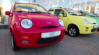 KIEV, UKRAINE, SEPTEMBER 7, 2012: Chery QQ at yearly automotive-show