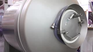 Manufacturing equipment. Rotating tank