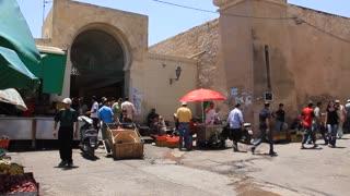 Marketplace in medina, Tunisia, Sousse
