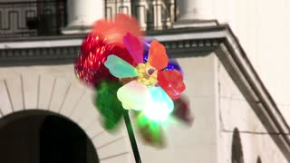 Multicoloured propeller