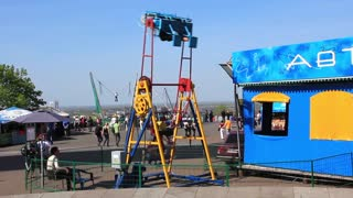Park amusements video stock footage