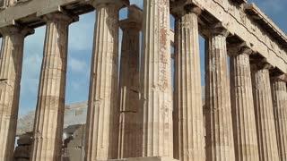 Parthenon - ancient temple in Athenian Acropolis, Greece