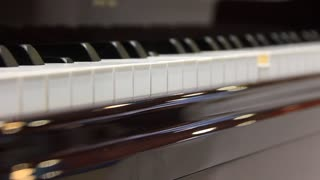 Play the piano video stock footage