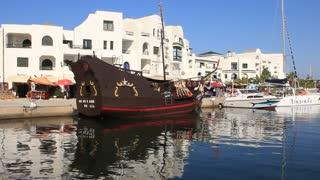 Pleasure ships in Port El Kantaoui, Tunisia, Sousse