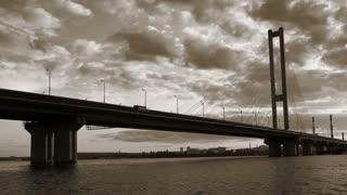 Southern Bridge in Kiev, Ukraine