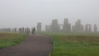 Stonehenge is a prehistoric monument in county of Wiltshire in in England. One of the most famous sites in world, Stonehenge is the remains of a ring of standing stones set within earthworks