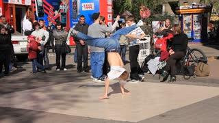 Street break dancers