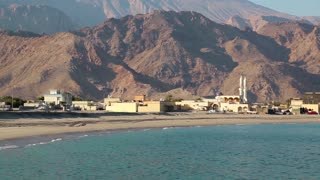 Sultanate of Oman, Musandam peninsula, Gulf of Oman, Daba, near Dibba Al-Baya - geographically part of Dibba region that faces Arabian Sea. It is a district in the governorate or muhafazah of Musandam