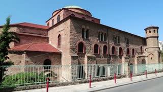 Temple of Hagia Sophia (Holy Wisdom) in Thessaloniki, Greece