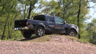 Test drive on off-road vehicle
