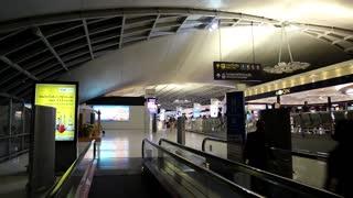 THAILAND, BANGKOK, MARCH 30, 2014: People inside Bangkok international airport in Thailand