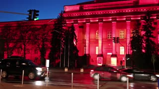 The Red University Building (Taras Shevchenko University) is the principal and oldest 4-story campus of the Kiev University in Kiev, the capital of Ukraine