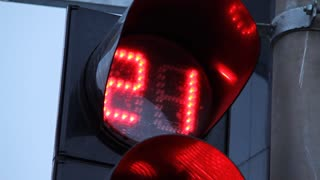 Traffic lights video stock footage