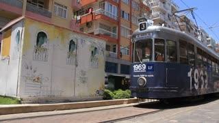 Tram in Antalya, Turkey