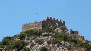 Turkey, Kekova-Simena region, old fortifications
