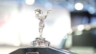UKRAINE, KIEV, SEPTEMBER 7, 2012: Rolls Royce at yearly automotive-show in Kiev, Ukraine