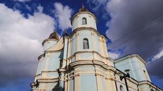 Armenian church, which today belongs to Ukrainian Autocephalous Orthodox Church in Ivano-Frankivsk city, western Ukraine