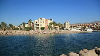 Harbour in Tala Bay resort near Aqaba city, Hashemite Kingdom of Jordan