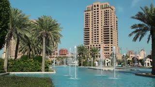 Pearl Qatar in Doha city, Qatar
