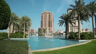 The Pearl-Qatar in Doha city, Qatar