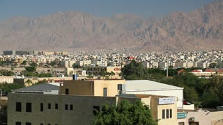View of the city of Aqaba in Hashemite Kingdom of Jordan