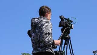 Videotape operator