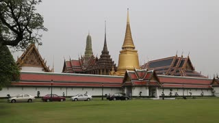 Wat Phra Kaew or Wat Phra Si Rattana Satsadaram or Temple of the Emerald Buddha in Bangkok is regarded as the most sacred Buddhist temple (wat - monastery-temple) in Thailand.