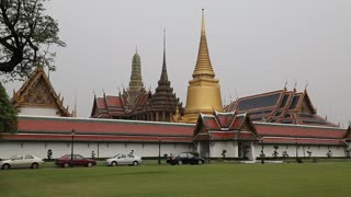 Wat Phra Kaew or Wat Phra Si Rattana Satsadaram or Temple of the Emerald Buddha in Bangkok is regarded as the most sacred Buddhist temple (wat - monastery-temple) in Thailand
