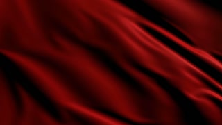 Luxurious red satin fabric loopable animated background