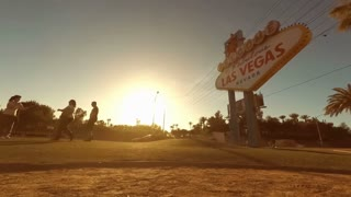 Welcome To Fabulous Las Vegas sign timelapse