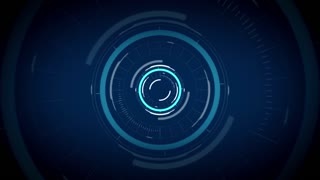 technology concept - virtual circuit hologram over black background