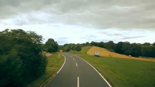 A trip on a European road