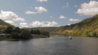 A walk on a European river