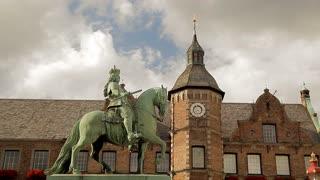 Jan Wellem Equestrian Statue Dusseldorf