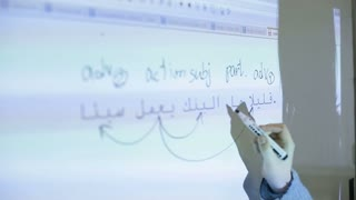 Learning of Arabic language in the classroom