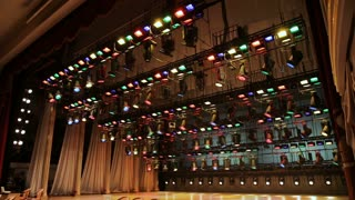 Lighting equipment in the theatre