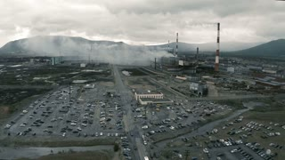 Plants, factories and transport pollution