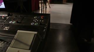 Sound equipment in the theatre